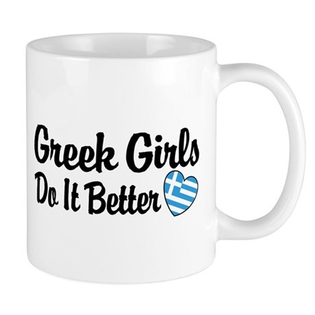 Greek Girls Do it Better Mug