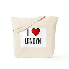 I LOVE LANDYN Tote Bag