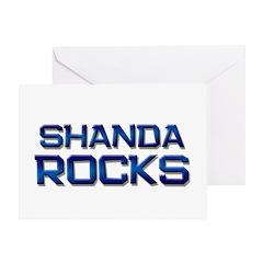 shanda rocks Greeting Card