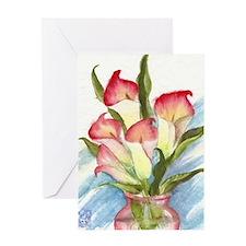 Unique Vases Greeting Card