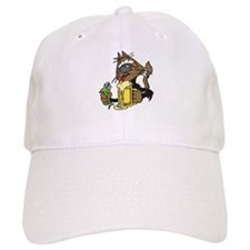 Beer & Cat Baseball Cap
