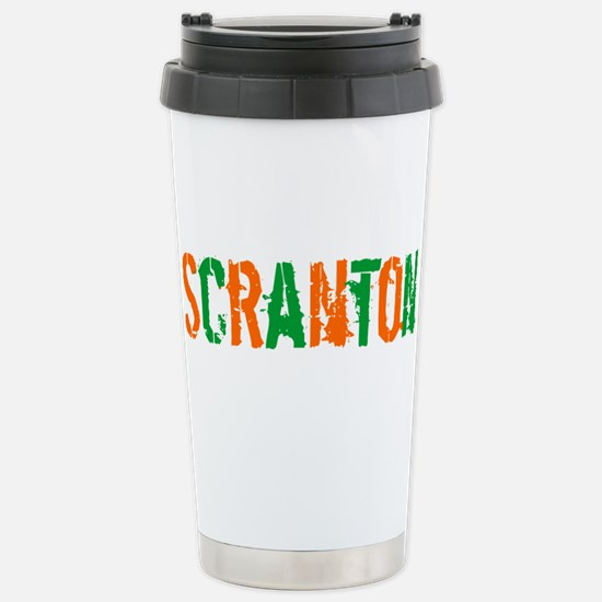 Scranton St. Patrick's Day Stainless Steel Travel