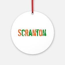 Scranton St. Patrick's Day Ornament (Round)