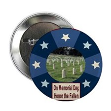 """Memorial Day 2.25"""" Button (10 pack)"""