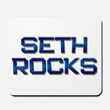 seth rocks Mousepad