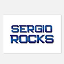 sergio rocks Postcards (Package of 8)