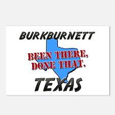 burkburnett texas - been there, done that Postcard