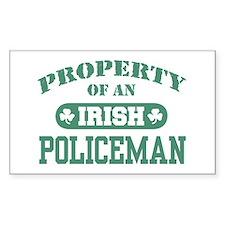 Property of an irish Policeman Rectangle Decal