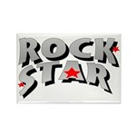 Rock Star Rectangle Magnet (10 pack)