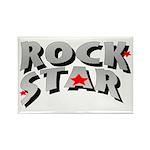 Rock Star Rectangle Magnet