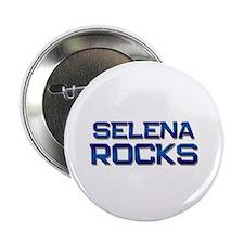 """selena rocks 2.25"""" Button"""