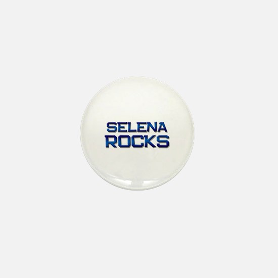 selena rocks Mini Button