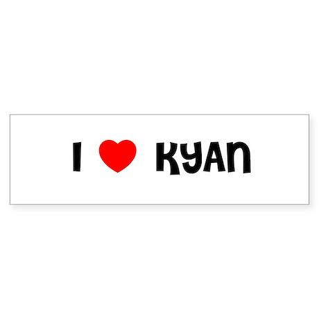 I LOVE KYAN Bumper Sticker