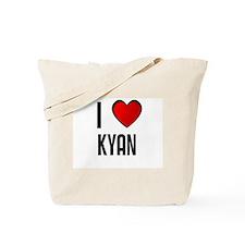 I LOVE KYAN Tote Bag