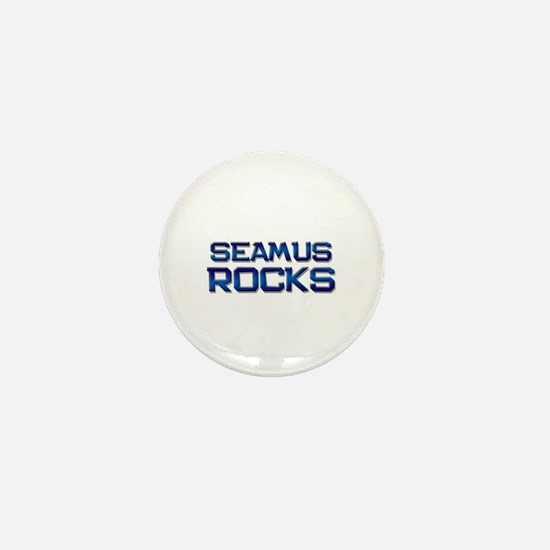 seamus rocks Mini Button