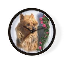 Australian Terrier Art Wall Clock
