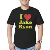 I love jake ryan old navy Fitted T-shirts (Dark)
