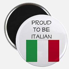 Unique Black with italian flag Magnet