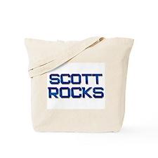 scott rocks Tote Bag