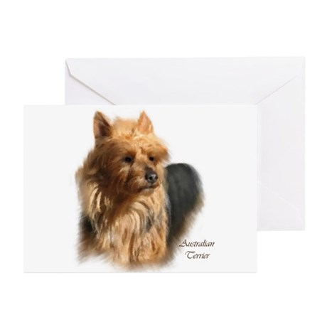 Australian Terrier Art Greeting Cards (Pk of 10)