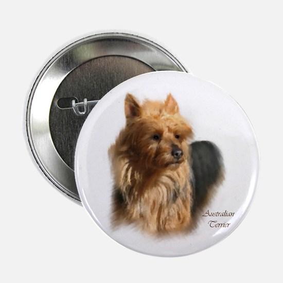 """Australian Terrier Art 2.25"""" Button (10 pack)"""