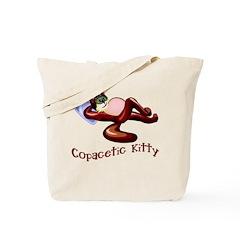 Copacetic Kitty Cute Cat Tote Bag