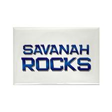 savanah rocks Rectangle Magnet