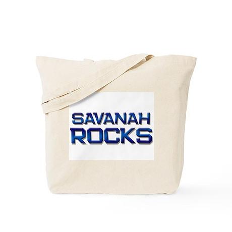 savanah rocks Tote Bag
