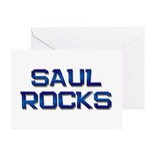 saul rocks Greeting Card