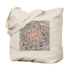 Million Illustration Tote Bag