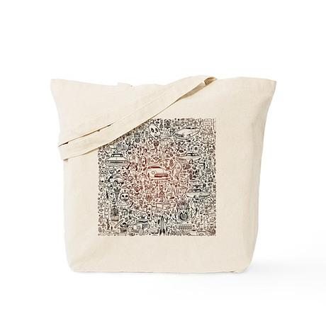 Million Illustration Tote Bag
