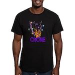 Crone Men's Fitted T-Shirt (dark)