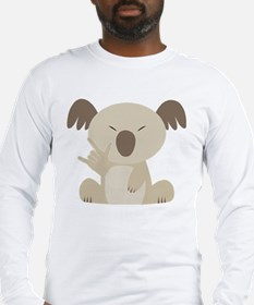 I Love You Koala Long Sleeve T-Shirt