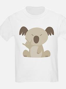 I Love You Koala T-Shirt