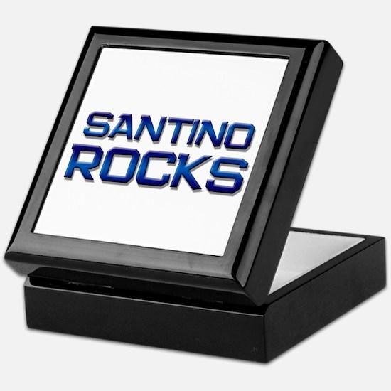 santino rocks Keepsake Box