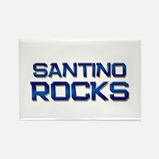 santino rocks Rectangle Magnet