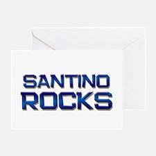 santino rocks Greeting Card