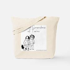 Proud Grandma of Twins BG Tote Bag