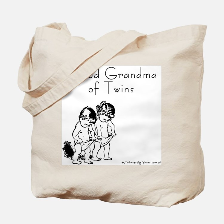 Proud Grandma of Twins BG Tote Bag