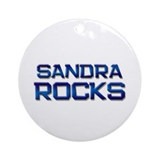 sandra rocks Ornament (Round)