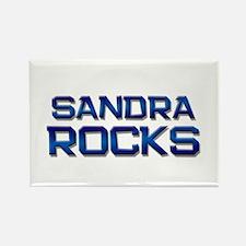 sandra rocks Rectangle Magnet