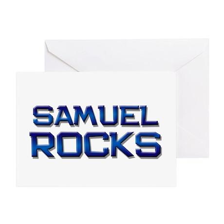 samuel rocks Greeting Card