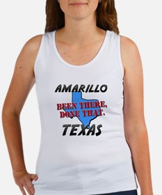 amarillo texas - been there, done that Women's Tan