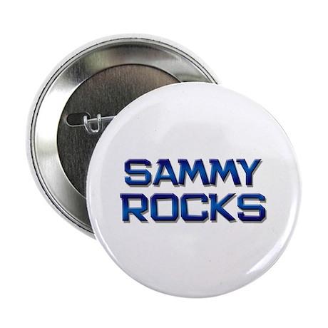 """sammy rocks 2.25"""" Button (10 pack)"""