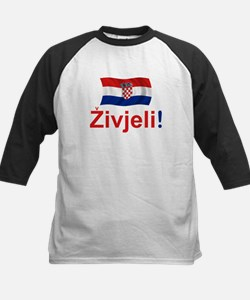 Croatian Zivjeli Kids Baseball Jersey