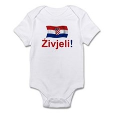 Croatian Zivjeli Infant Bodysuit