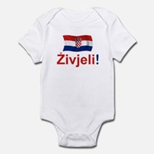 Croatian Zivjeli Infant Bodysuit