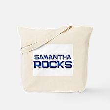 samantha rocks Tote Bag