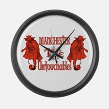 Manchester Untouchables Large Wall Clock