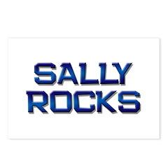 sally rocks Postcards (Package of 8)